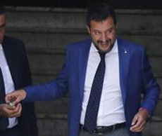 """Salvini insisteix en el seu rebuig a l'Open Arms: """"Som bons cristians, però no ximples"""" (Cecilia Fabiano/LaPresse via ZUM / DPA)"""