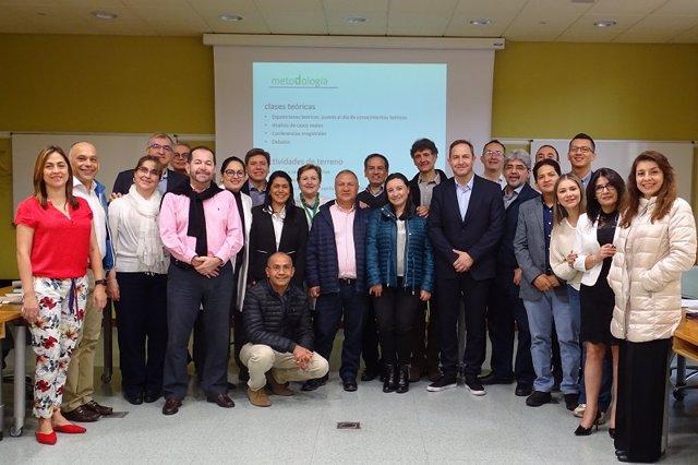 Andalucía.- Profesionales sanitarios de Colombia se forman en la Escuela Andaluza de Salud Pública
