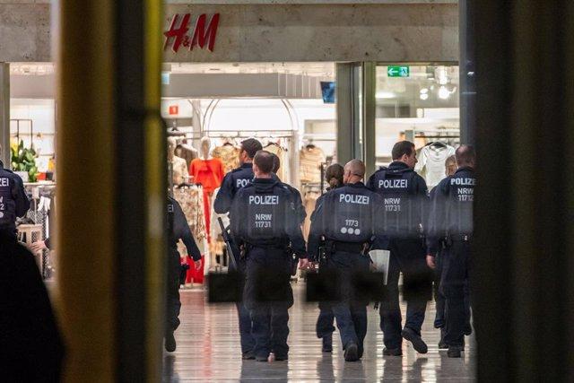 Despliegue policial en Duisburgo (Alemania)