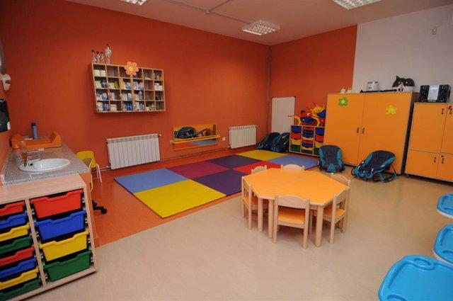 Escuela infantil de una foto de archivo
