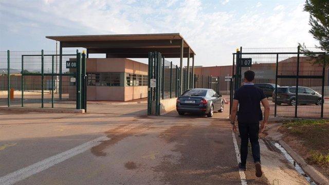 El pte.Q.Torra visita a los presos independentistas en la cárcel de Lledoners