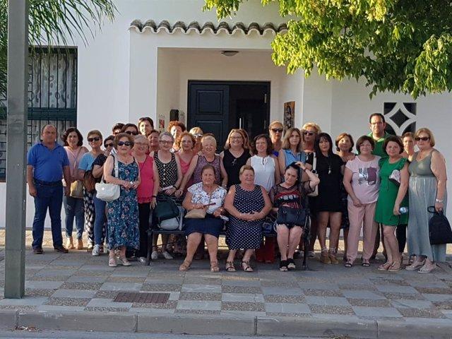 Carmen Collado con la Federación Sol Rural