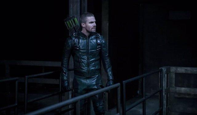 Imagen de Stephen Ammell como Oliver Queen en 'Arrow'