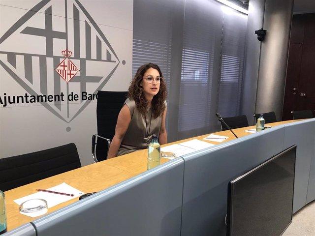 La teniente de Alcaldía de Barcelona Laura Pérez