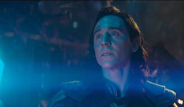 Imagen de Loki en Vengadores: Infinity War