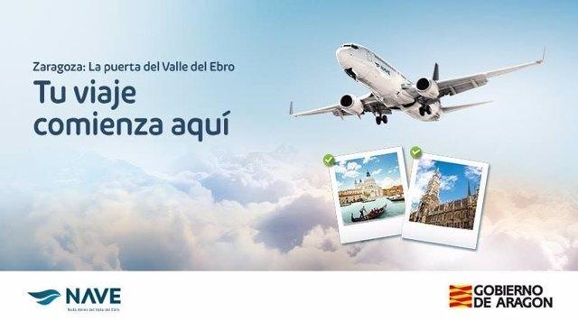 Binter Canarias conectará Zaragoza y Canarias desde octubre.