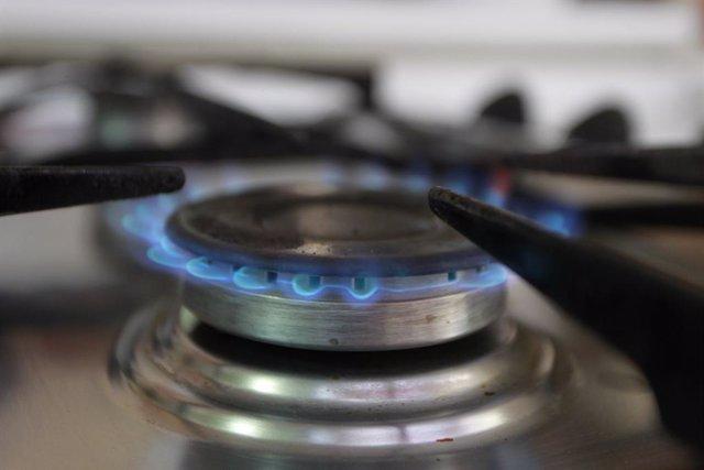 Gas, cuina de gas, flames, flama,  foc, fogó, fogons, gas natural