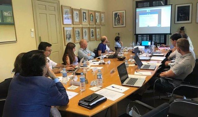 Reunión del proyecto europeo EERAdata, al que se ha incorporado la Agencia Andaluza de la Energía.