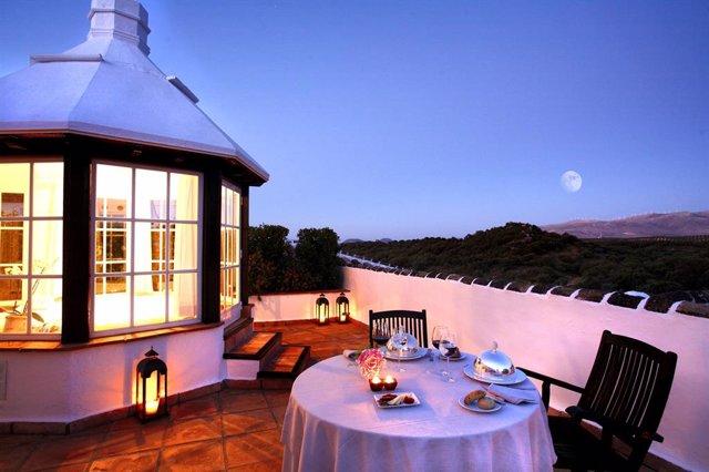 Vista Panorámica desde terraza del Hotel Barceló La Bobadilla