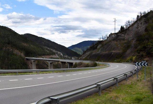 Una carretera catalana.