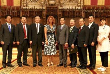 L'Ajuntament de Barcelona rep representants de la Cambra del Japó (AJUNTAMENT DE BARCELONA)