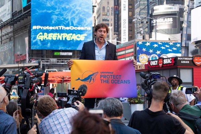 Javir Bardem Campaigns for Global Ocean Treaty