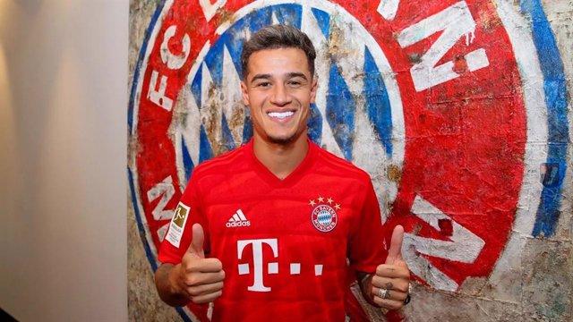 El nou jugador del Bayern de Munic, cedit pel FC Barcelona, Philippe Coutinho