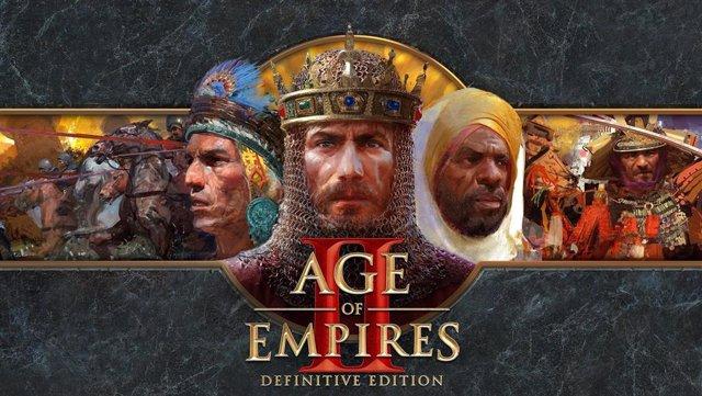 El cartel del videojuego Age of Empires II: Definitive Edition