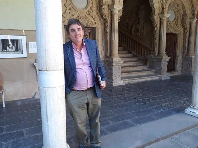 Luis García Montero en Baeza