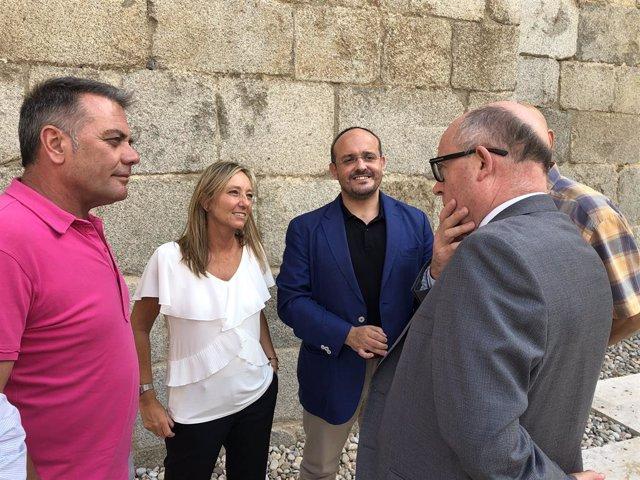 Nota Ppc. Alejandro Fernández Recolza La Petició De Dimissió De la Consellera Jordà Per la Gestió De les Ajudes Als Afectats Pel Gran Incendi De Ribera D?Ebre I Ponent