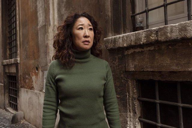 Imagen de Sandra Oh como Eve en Killing Eve