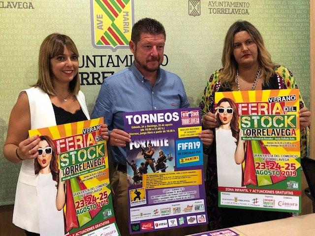 Presentación de la edición de verano de la Feria del Stock de Torrelavega