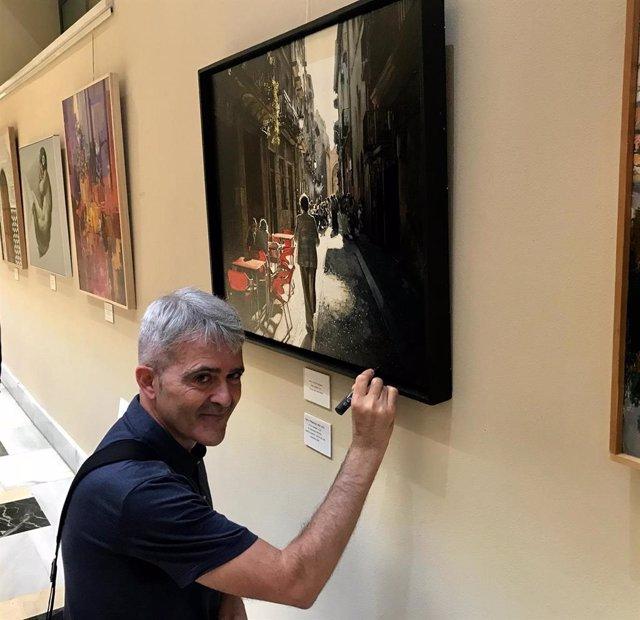 El artista y la obra ganadora