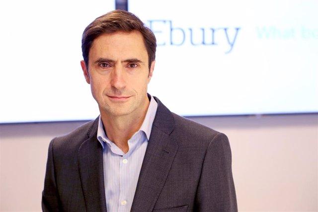 El director de Ebury en España, Luis Azofra.