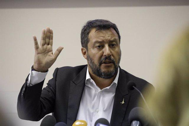 """Europa.- Salvini defiende su """"firmeza"""" ante los """"supuestos enfermos y menores"""" d"""