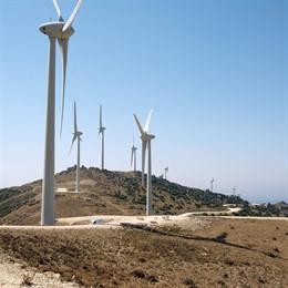 Parque eólico de Endesa en la provincia