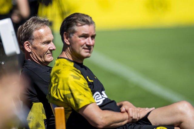 Fútbol.- Hans-Joachim Watzke, director general del Dortmund, asegura que no tien