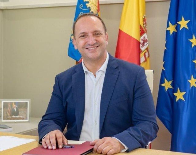 El vicepresidente segundo de la Generalitat Valenciana y conseller de Vivienda, Rubén Martínez Dalmau