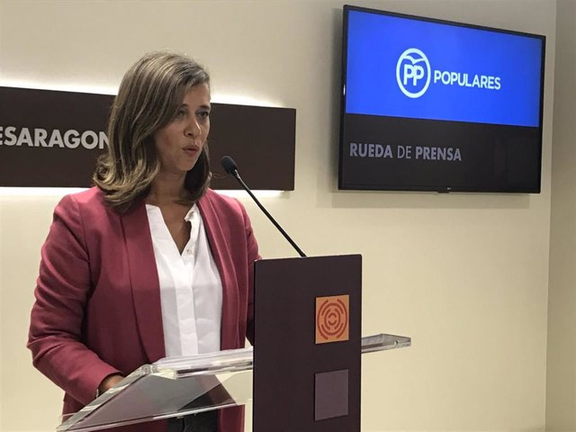 La portavoz adjunta del PP Aragón, Marian Orós.