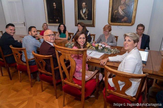 AMP.- PSOE expulsa del partido a la alcaldesa de Cartagena y a los concejales qu