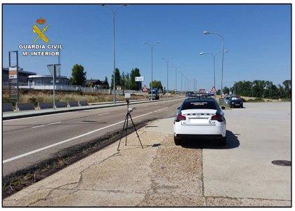 La campaña especial de control de velocidad se salda con 442 denuncias en La Rioja