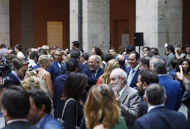 Francisco Igea, en Madrid en el acto de toma de posesión del nuevo Ejecutivo de Isabel Díaz Ayuso.