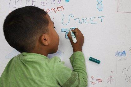 Venezuela.- UNICEF pide 63 millones de euros para ayudar a 900.000 niños venezolanos