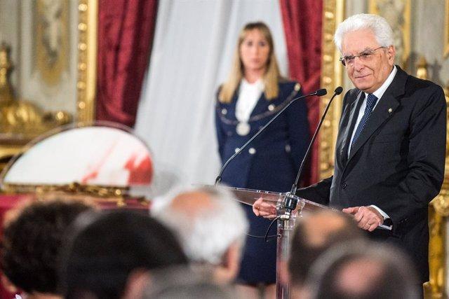 Italia.- El presidente de Italia confirma la dimisión de Conte y abre un periodo