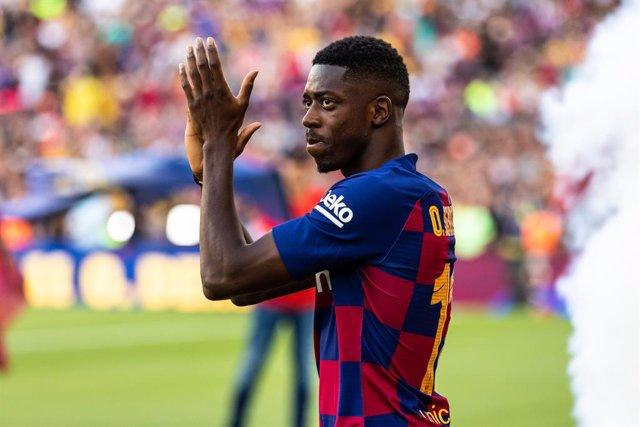 """Fútbol.- Dembélé seguirá en el FC Barcelona al """"mil por ciento"""""""