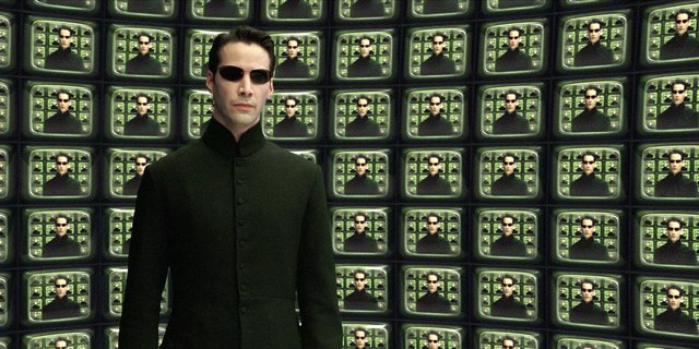 KEANU REEVES EN MATRIX RELOADED