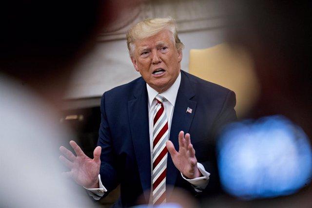EEUU.- Trump tacha de ignorantes y desleales a los judíos que votan al Partido D