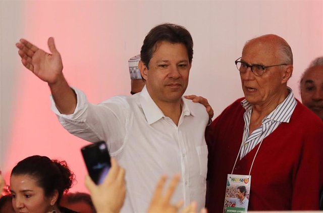 El excandidado presidencial brasileño Fernando Haddad