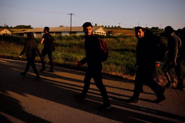 Migrantes sirios en Turquía