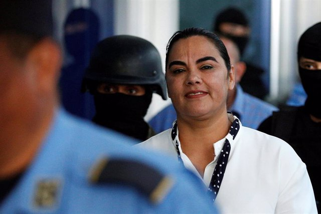 La ex primera dama de Honduras Rosa Elena Bonilla