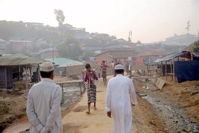 Campo de refugiados rohingya en Cox's Bazar