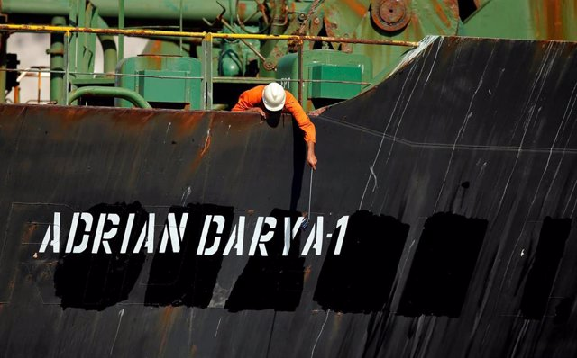 El petroerlo 'Adrian Darya 1',  anteriormente 'Grace1'
