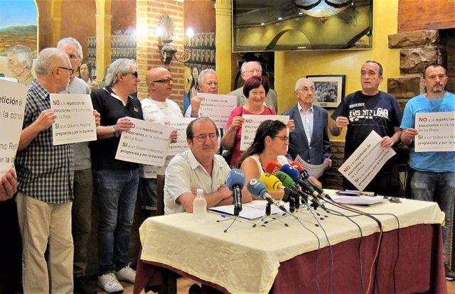 Movimiento ciudadano que pide la no repetición de elecciones en La Rioja reclama a alcaldes que se unan a este petición