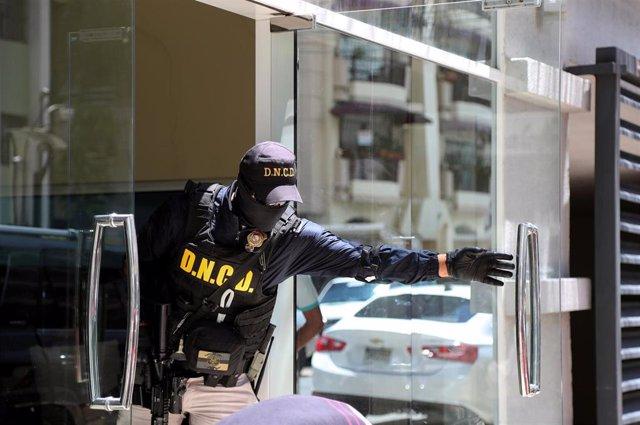 Operación antidroga en República Dominicana