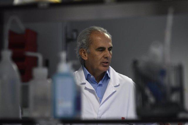 El consejero de Sanidad de la Comunidad de Madrid en funciones, Enrique Ruiz Escudero