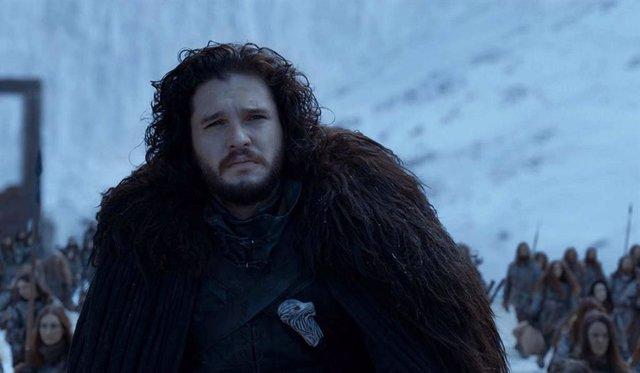 Imagen de Kit Harrington como Jon Snow en Juego de Tronos