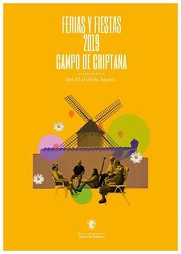 Cartel anunciador de las ferias de Criptana