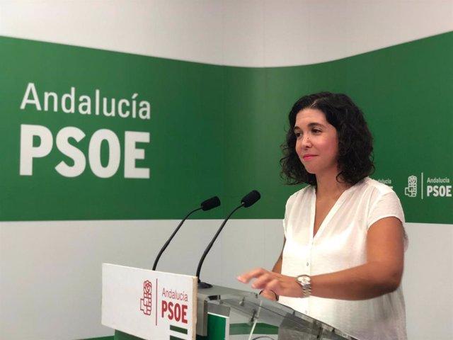 Rueda de prensa de Noelia Ruiz