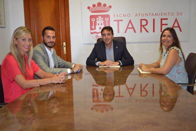 CádizAlDía.-Diputación y Ayuntamiento Tarifa abordan temas de desarrollo sosteni