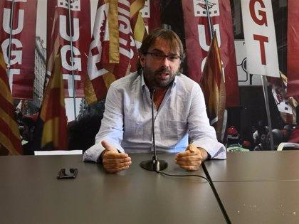 """Ros (UGT) critica el """"inmovilismo total"""" de Iberia ante la huelga en el Aeropuerto de Barcelona"""